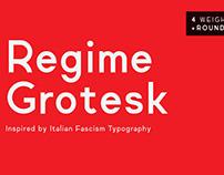 Regime Grotesk - FREE FONT