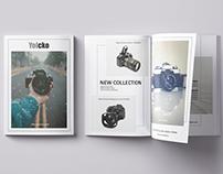 Brochure for online store