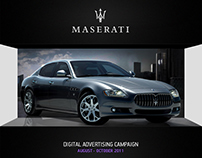 MASERATI / DIGITAL ADVERTISING CAMPAIGN