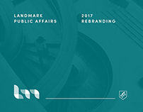 Landmark Public Affairs • Rebranding