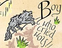 Font promotion booklet, Faerie Tails font