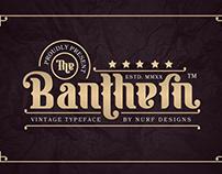 FREE | Banthern Vintage Typeface