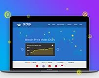 F2POOL- Bitcoin Mining Pool (BTC), Landing page