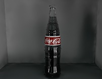 Coca Cola 3D Bottle