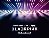 BLACKPINK 2018-2019 WORLD TOUR IN YOUR AREA MD DESIGN