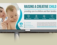 Pediatrician Billboard Template