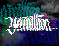Glitched Calligraphy
