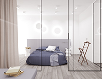 A small flat in two versions