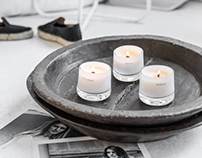 MESSAGE CANDLES - MODERN TWIST MOOD