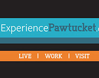 Non-Profit Design: Experience Pawtucket Branding