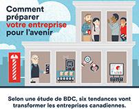 bdc / affiche infographique