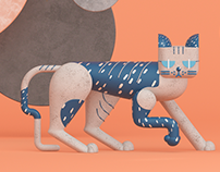 Modern Toy Cats