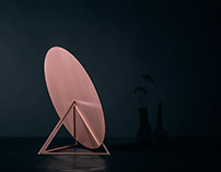 CLÉO - TABLE MIRROR - COPPER