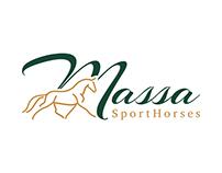Horse Logo for Sport Horse Farm