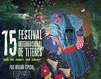 Afiche 15 Festival Internacional de Titeres