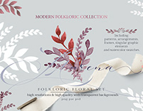 MODERN FOLKLORIC COLLECTION