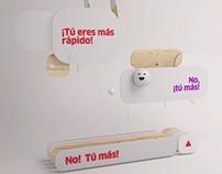 """VODAFONE Y ONO. """"TÚ MÁS"""" - Le Cube"""