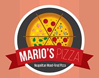 Mario's Pizza Takeout Menu