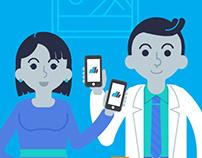 Data Health Ilustraciones