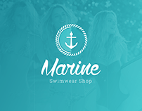 Marine Swimwear Shop - Brand Design