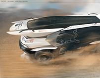 2030 Kamaz Rally Machine