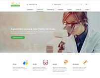 Buta Farm Pharmacy Network Website Design
