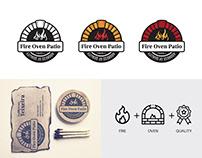 Fire Oven Ratio Branding Logo