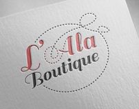 L'Ala Boutique branding