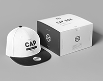 Cap & Box Mock-up