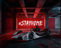 Porsche Formula E - Full CGI