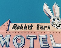 """Rabbit Ears Motel"" Illustration"