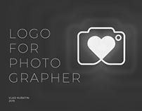 Logo for photographer / Логотип для фотографа