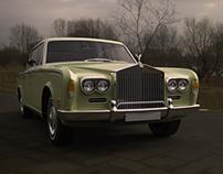 Rolls Royce Shadow Render