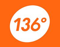 136° - Degree Show Branding