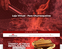 Loja Virtual - E-Commerce Para Churrasqueiros