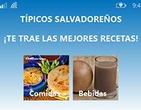 Típicos Salvadoreños - Windows Phone 8.1