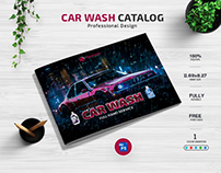 Car Wash Catalog Design