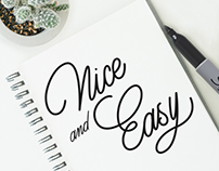 Typography and Calligraphy Work