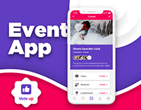 Events App UI/UX