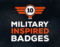 Military Inspired Badges