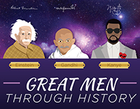 Great Men Through History