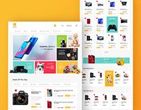 MOWAFER E-Commerce UI/UX Design