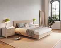 Rendering of furniture 02