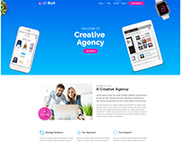 JD BizX - One page Multipurpose Joomla Template
