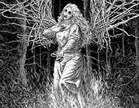 Hex - Endpaper Illustration