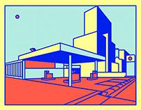 Petrol Station Series