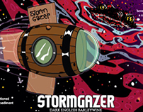 STORMGAZER BOTTLE LABEL DESIGN