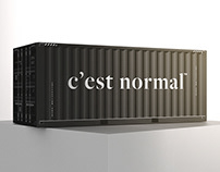 c'est normal / packaging