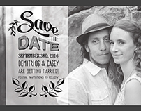 Casey and D Save the Date