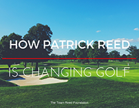 How Patrick Reed Is Changing Golf